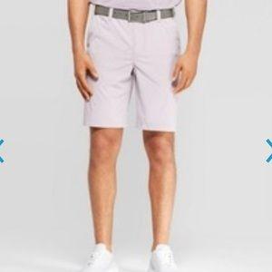 Lilac Golf Shorts